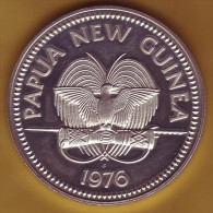- PAPOUASIE - NOUVELLE-GUINEE - 10 Kina 1976 - Argent - - Papua New Guinea
