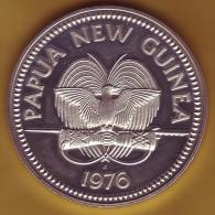 - PAPOUASIE - NOUVELLE-GUINEE - 10 Kina 1976 - Argent - - Papouasie-Nouvelle-Guinée