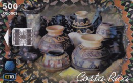 Costa Rica, CRI-C-36, As� es mi tierra. Tarjeta T�pica 5 (1St Edition), 2 scans.