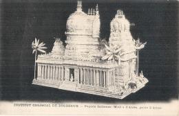 -33- Institut Colonial De  Bordeaux Pagode Indienne - Architecture - Maquette  Neuve TTB - Bordeaux