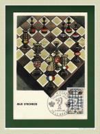 """CM 1966  """" Festival International D'échecs Au Havre """" Avec Le N° YT 1480 - Schaken"""