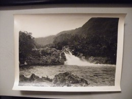 A362.  Photographie. Tirage Original.Cliché J.LEVOIR.Ile De La Réunion. Plaine De Palmite. Le Bassin Cadet. - Photographs