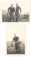 2 Photos Amateurs, Vélos, Cyclisme, Hommes & Leurs Vélos ( Mostaganem ) - Cyclisme