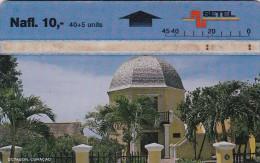 Curacao, CUR 04, Octagon - 601M, 2 Scans. - Antilles (Netherlands)