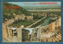 07-BEAUCHASTEL-Multivues-lot De 2 Cartes- Divers Aspects- Non écrite -4 Scans- 10.5 X 15 - - Ansichtskarten
