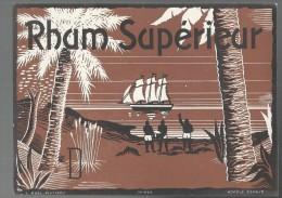 ETIQUETTE - RHUM SUPERIEUR - Rhum