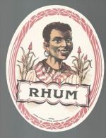 ETIQUETTE - RHUM  - ORIGINALE - TTBE - Rhum