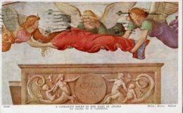 Cartolina Antica S. CATHARINE BORNE TO HER TOMB BY ANGELS Di B. Luini 1946 - L99 - Pittura & Quadri