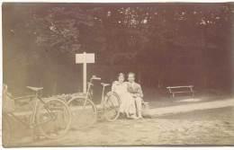 Photo Amateur, Vélo, Couple De Cyclistes - Cyclisme