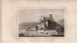 1837 - Gravure Sur Cuivre - Lyon (Rhône) - Château De Pierre Scize - FRANCO DE PORT - Prints & Engravings