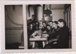 Photo originale Marine BREST  le Croiseur TOURVILLE plat 12 babord