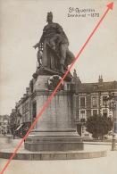 Belle Photo Allemande Guerre 14-18 Saint Quentin Statue - Guerre, Militaire