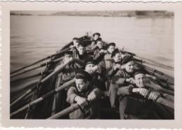 Photo originale Marine BREST  le Croiseur TOURVILLE exercice d'embarcation