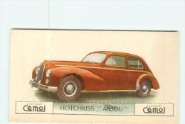 AUTOMOBILE - HOTCHKISS ANJOU - Lire Descriptif  - 2 Scans - Voitures De Tourisme