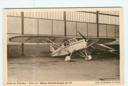 AVIATION -   Avion De Tourisme POTEZ 43 - Moteur Renault Bengali  - TBE - 2 Scans - 1919-1938: Entre Guerres