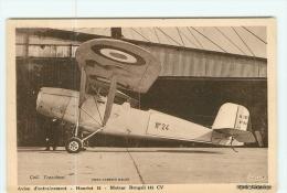 AVIATION -   Avion D' Entraînement - HANRIOT 16 - Moteur Bengali 140 CV  - TBE - 2 Scans - 1919-1938: Entre Guerres
