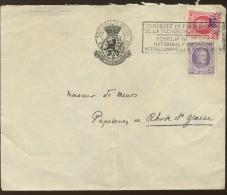 Lettre Avec 2 Tp        Ø Recherche Scientifique - 1922-1927 Houyoux