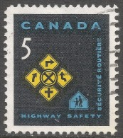 Canada. 1966 Highway Safety. 5c Used. SG 572 - 1952-.... Reign Of Elizabeth II