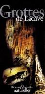 Ancien Dépliant Sur Les Grottes De Lacave (Périgord) Vers 2002 - Dépliants Touristiques