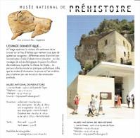 Ancien Dépliant Sur Le Musée National De Préhistoire, Les Eyzies De Tayac, Périgord, Vers 2002 - Dépliants Touristiques