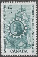 Canada. 1966 300th Anniv Of La Salle's Arrival In Canada. 5c MH. SG 571 - 1952-.... Reign Of Elizabeth II