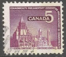Canada. 1966 Commonwealth Parliamentary Association Conference, Ottowa. 5c Used. SG 575 - 1952-.... Reign Of Elizabeth II