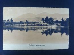 TELESE LAGO GRANDE POSTAL CIRCULADA A NAPOLI 1908 - Postcards