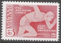 Canada. 1967 Fifth Pan-American Games, Winnipeg. 5c MH. SG 614 - 1952-.... Reign Of Elizabeth II