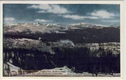 Winter Scene, Near Timgerline, Rollins Pass, Western Slpe of the Continental Divide