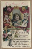 - § *A  JOYOUS  BIRTHDAY . **= ( Met GOLLIWOG  POP !!!)- ! - 1900-1949