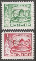 Canada. 1967 Christmas. Used Complete Set. SG 618-619 - 1952-.... Reign Of Elizabeth II