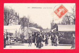 F-36-Chateauroux-50Ph66  Place Gambetta, Jour De Marché, Belle Animation, Cpa BE - Chateauroux