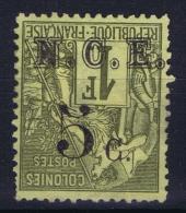 Nouvelle Calédonie  Yv Nr 10 A  Not Used (*) SG Surcharge Renversée - Nouvelle-Calédonie