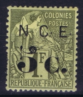 Nouvelle Calédonie  Yv Nr 9  MH/* Falz/ Charniere - New Caledonia