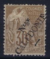 Nouvelle Calédonie  Yv Nr 30  MH/* Falz/ Charniere. 1892  Light Gum Fold - Nouvelle-Calédonie