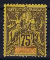 Nouvelle Calédonie  Yv Nr 52  MH/* Falz/ Charniere. 1892 - Ungebraucht