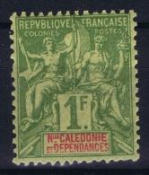Nouvelle Calédonie  Yv Nr 53  MH/* Falz/ Charniere. 1892 - Nouvelle-Calédonie