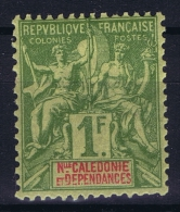 Nouvelle Calédonie  Yv Nr 53  MH/* Falz/ Charniere. 1892 - Ungebraucht