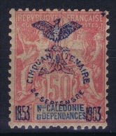 Nouvelle Calédonie  Yv Nr 78  MH/* Falz/ Charniere  1903 - Ungebraucht