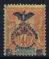 Nouvelle Calédonie  Yv Nr 77  MH/* Falz/ Charniere  1903 - Ungebraucht