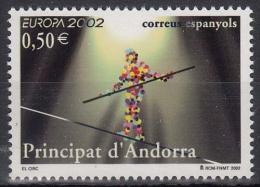 Andorra Span. MiNr. 290 ** Europa: Zirkus - Spanisch Andorra