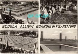 ROMA -- NETTUNO -- SCUOLA ALLIEVI GUARDIE DI P.S. -- ANNUALE CELEBRAZIONE DEL 112° -- 4 VEDUTE -- - Other