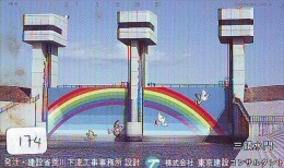 ARC EN CIEL - RAINBOW - Regenboog - Regenbogen Phonecard Telefonkarte (174) - Astronomy