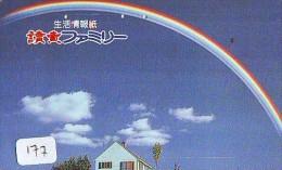ARC EN CIEL - RAINBOW - Regenboog - Regenbogen Phonecard Telefonkarte (177) - Astronomy