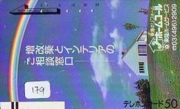 ARC EN CIEL - RAINBOW - Regenboog - Regenbogen Phonecard Telefonkarte (179) Barcode 110-011 - Astronomy