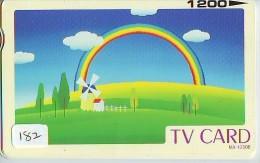 ARC EN CIEL - RAINBOW - Regenboog - Regenbogen Phonecard Telefonkarte (182) - Astronomy