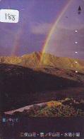 ARC EN CIEL - RAINBOW - Regenboog - Regenbogen Phonecard Telefonkarte (188) - Astronomy