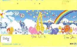 ARC EN CIEL - RAINBOW - Regenboog - Regenbogen Phonecard Telefonkarte (208) - Astronomy