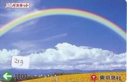 ARC EN CIEL - RAINBOW - Regenboog - Regenbogen Card Karte (213) - Astronomy