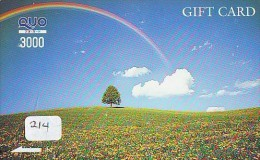 ARC EN CIEL - RAINBOW - Regenboog - Regenbogen Card Karte (214) - Astronomy